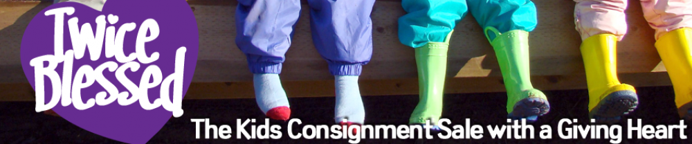 Twice Blessed Kids' Consignment Sale